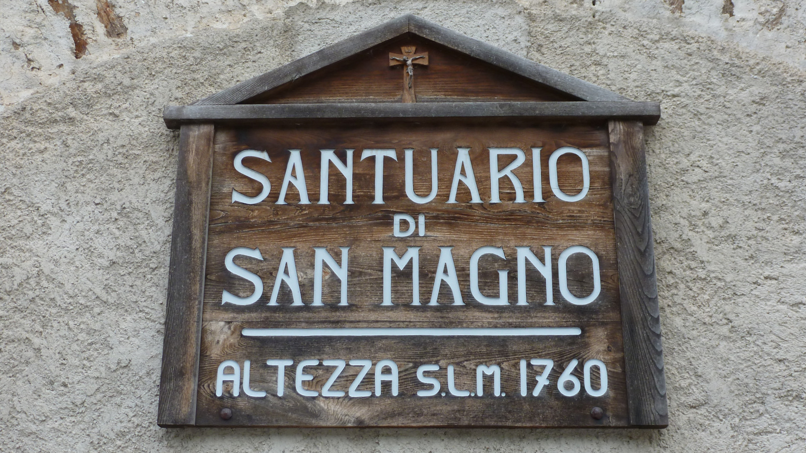 visite du sanctuaire de San Magno dans le val Grana