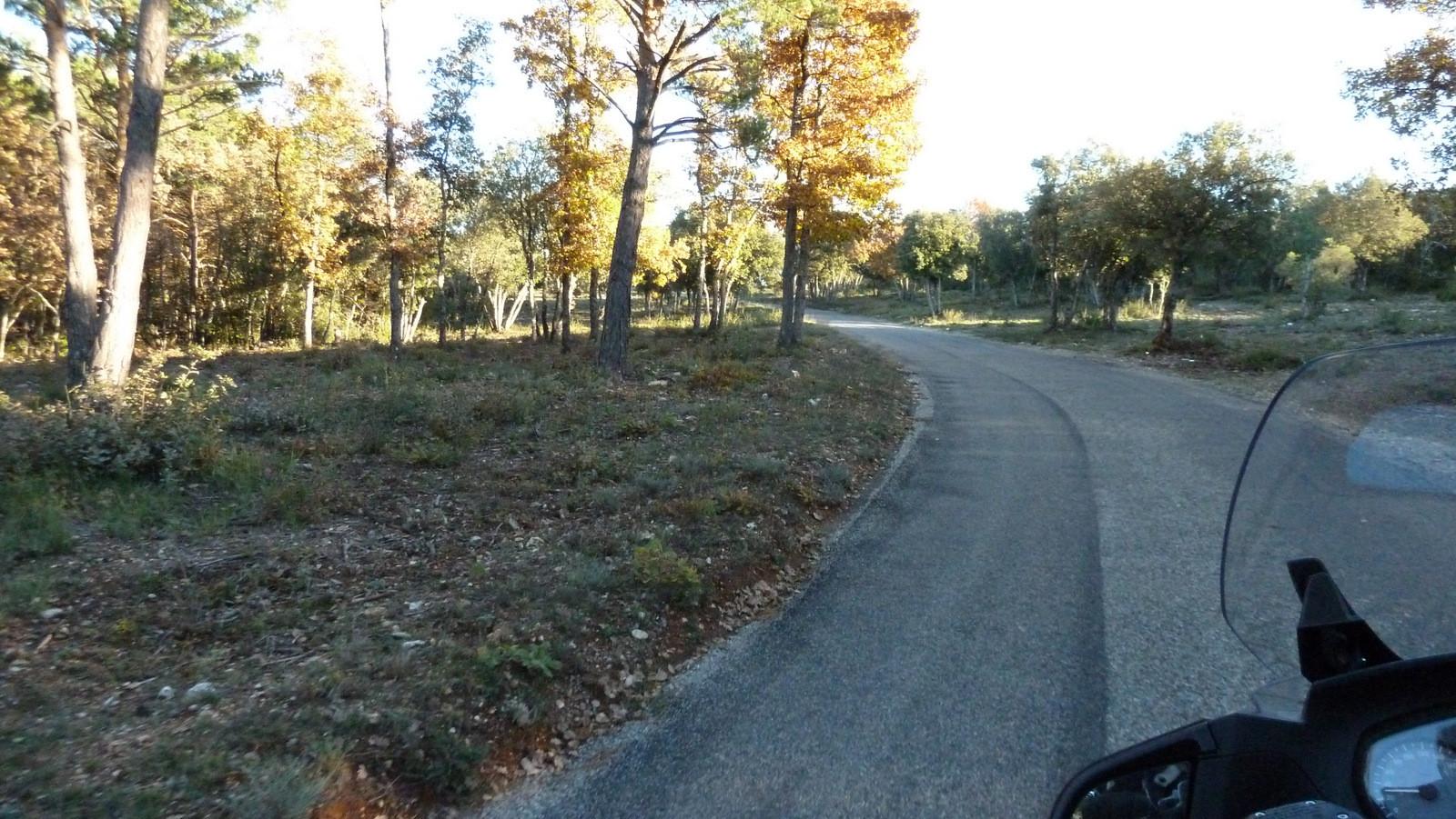 petite route de Montagnac vers ...