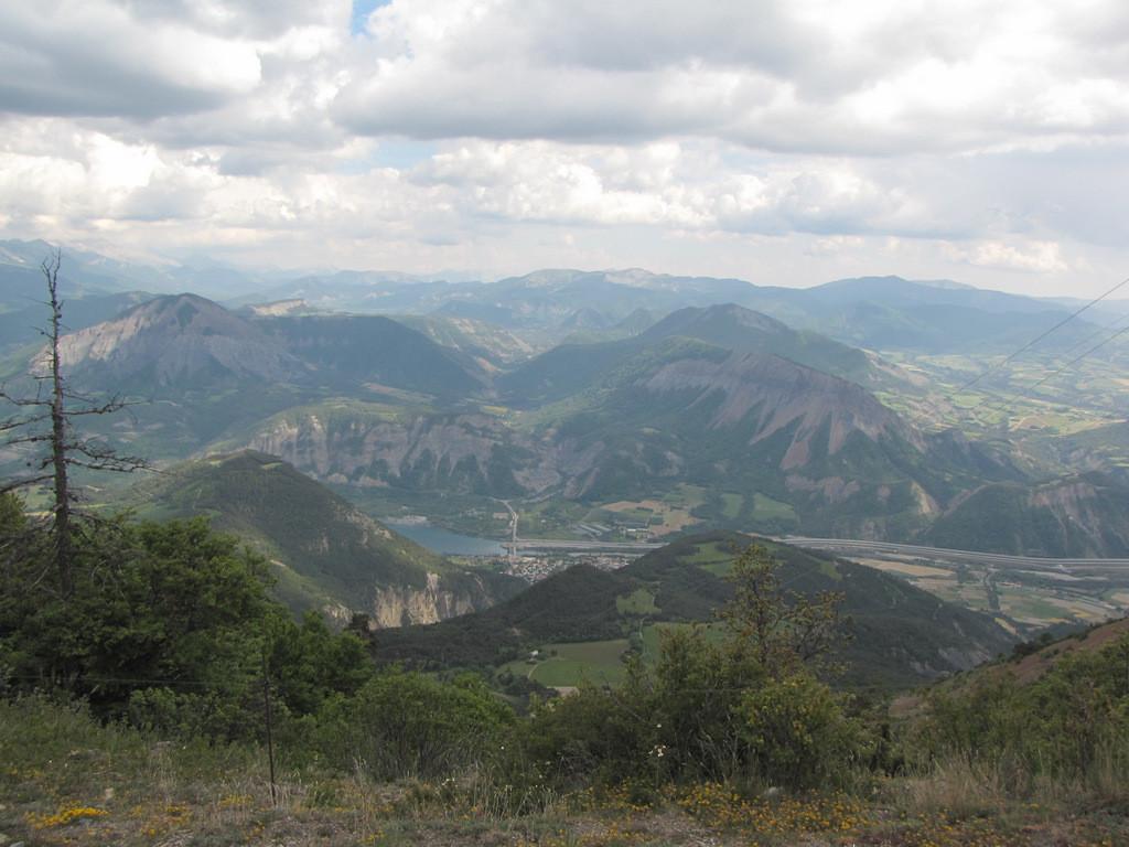 vue du mont Colombis