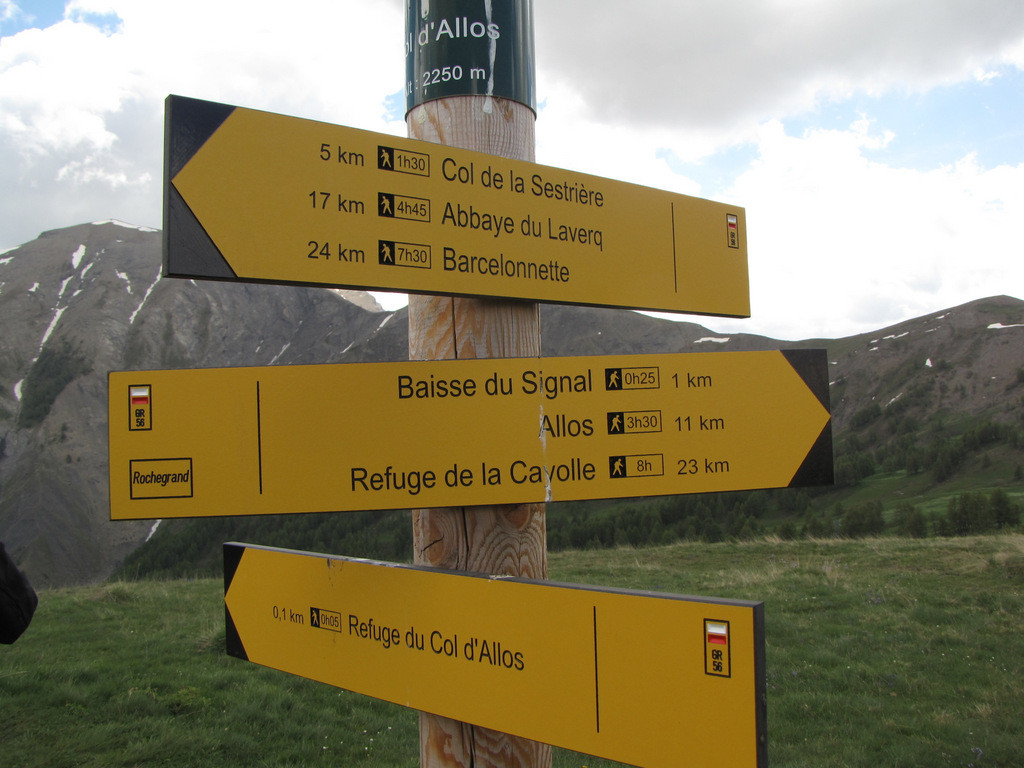 Col d'Allos 2250m