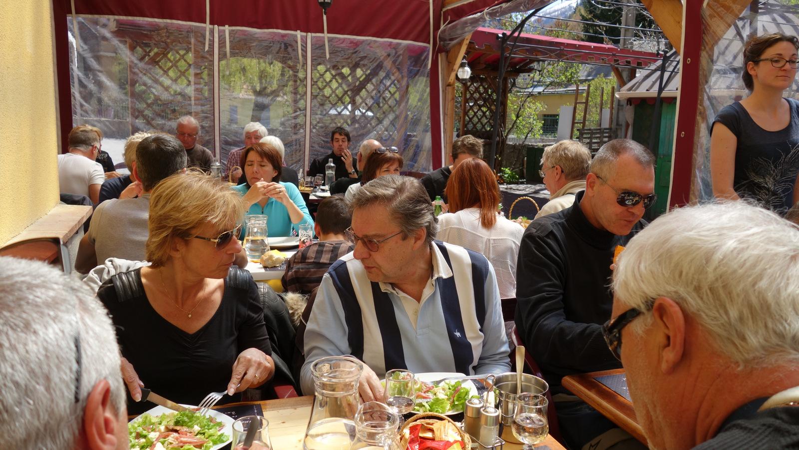 déjeuner à l'hôtel de France