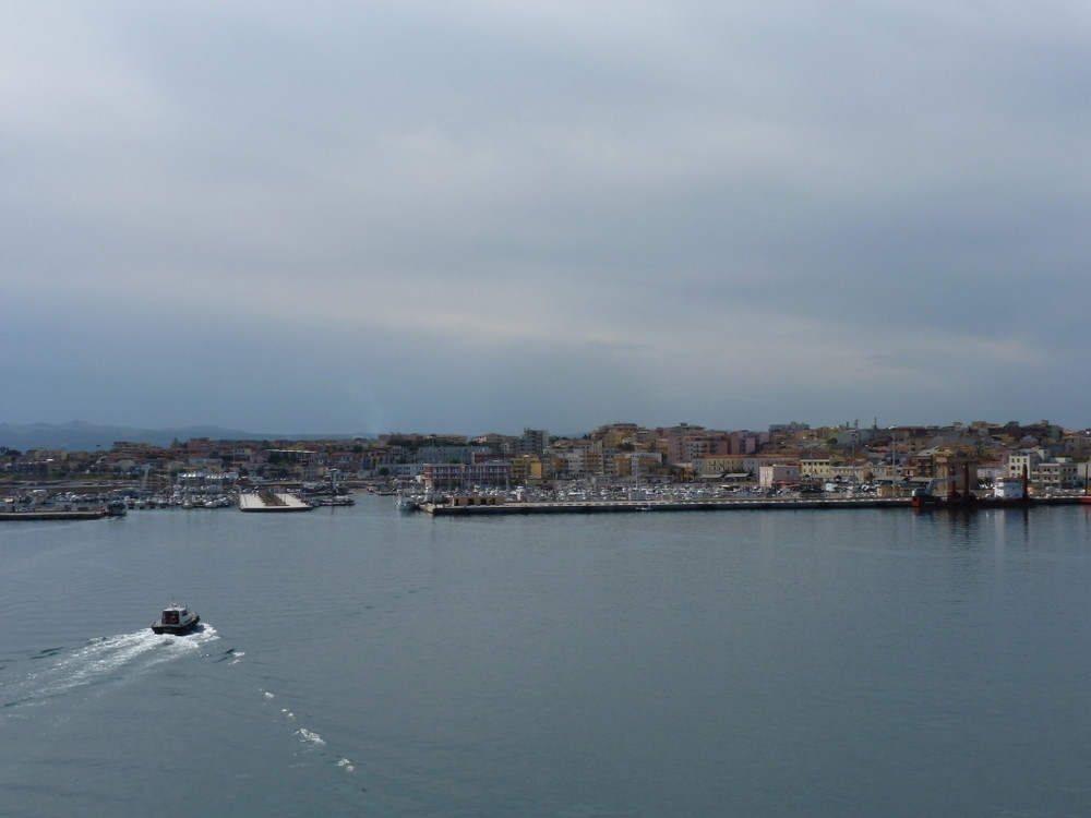 arrivée à Porto Torres