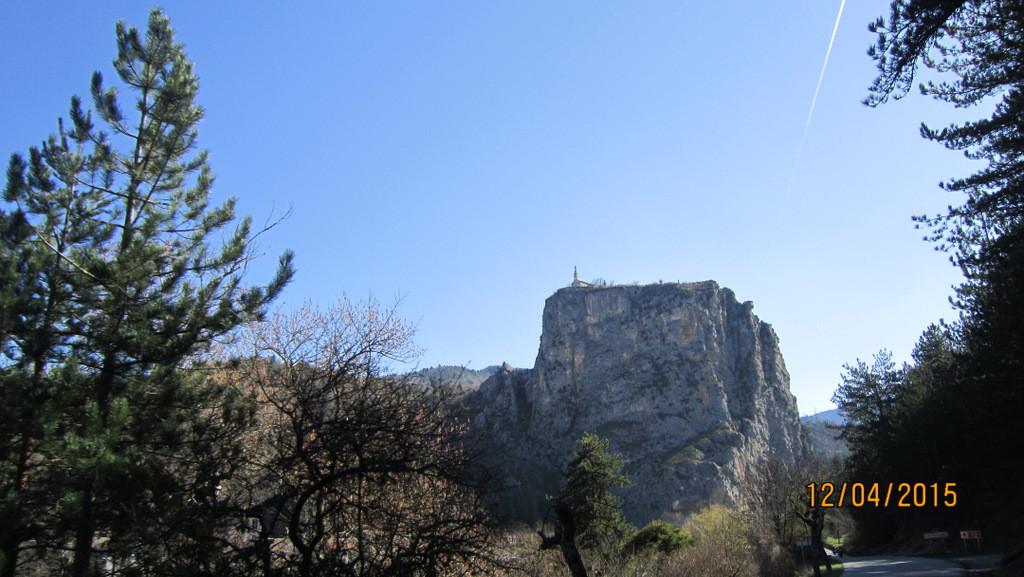 chapelle N.D. du Roc à Castellane