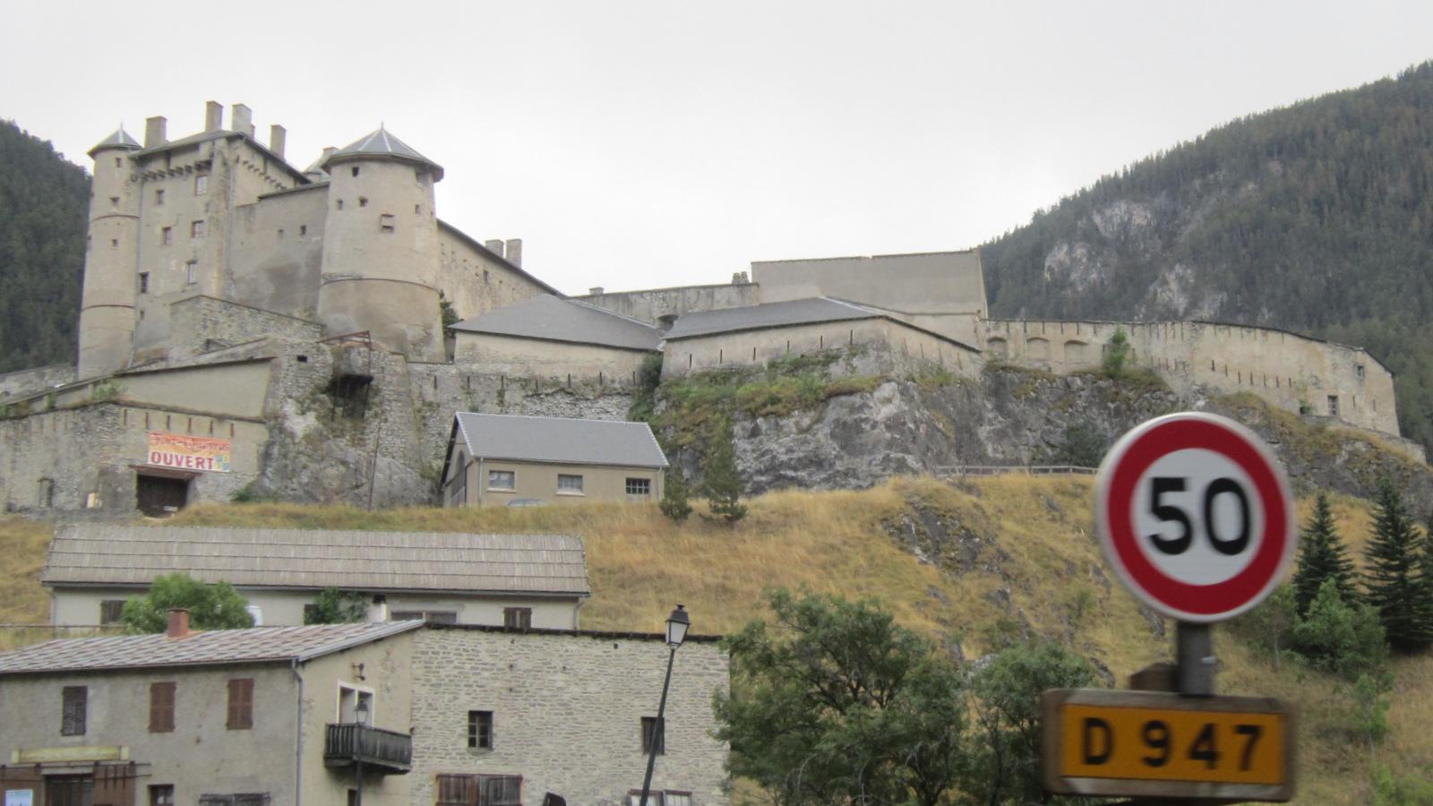arrivée à Château-Queyras