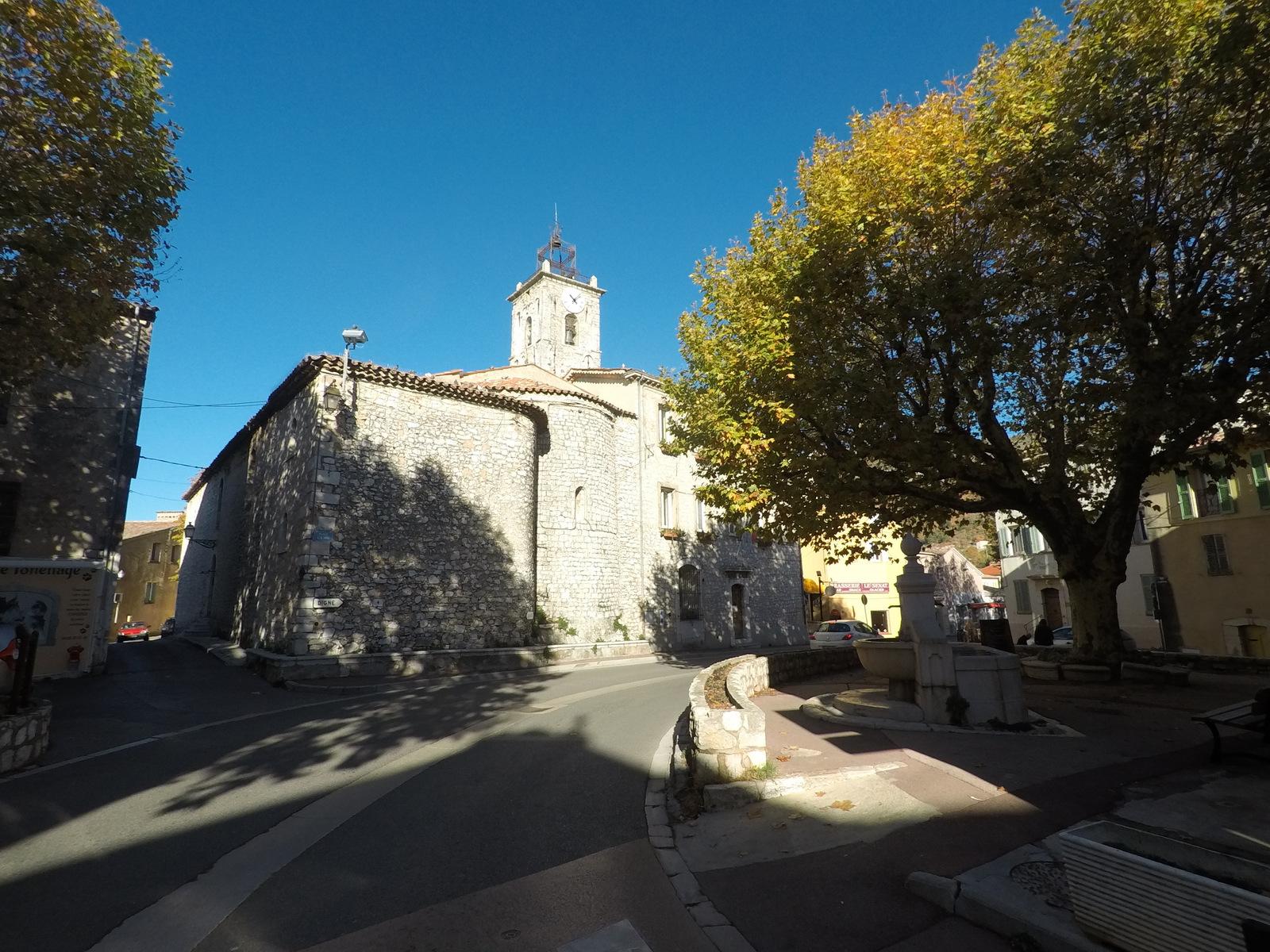 traversée de St Vallier-de-Thiey