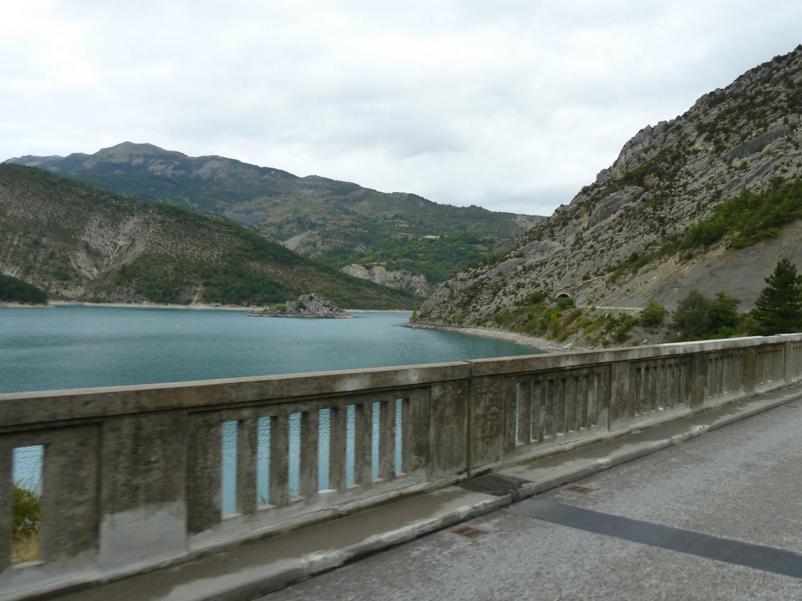 ... le lac de Castillon