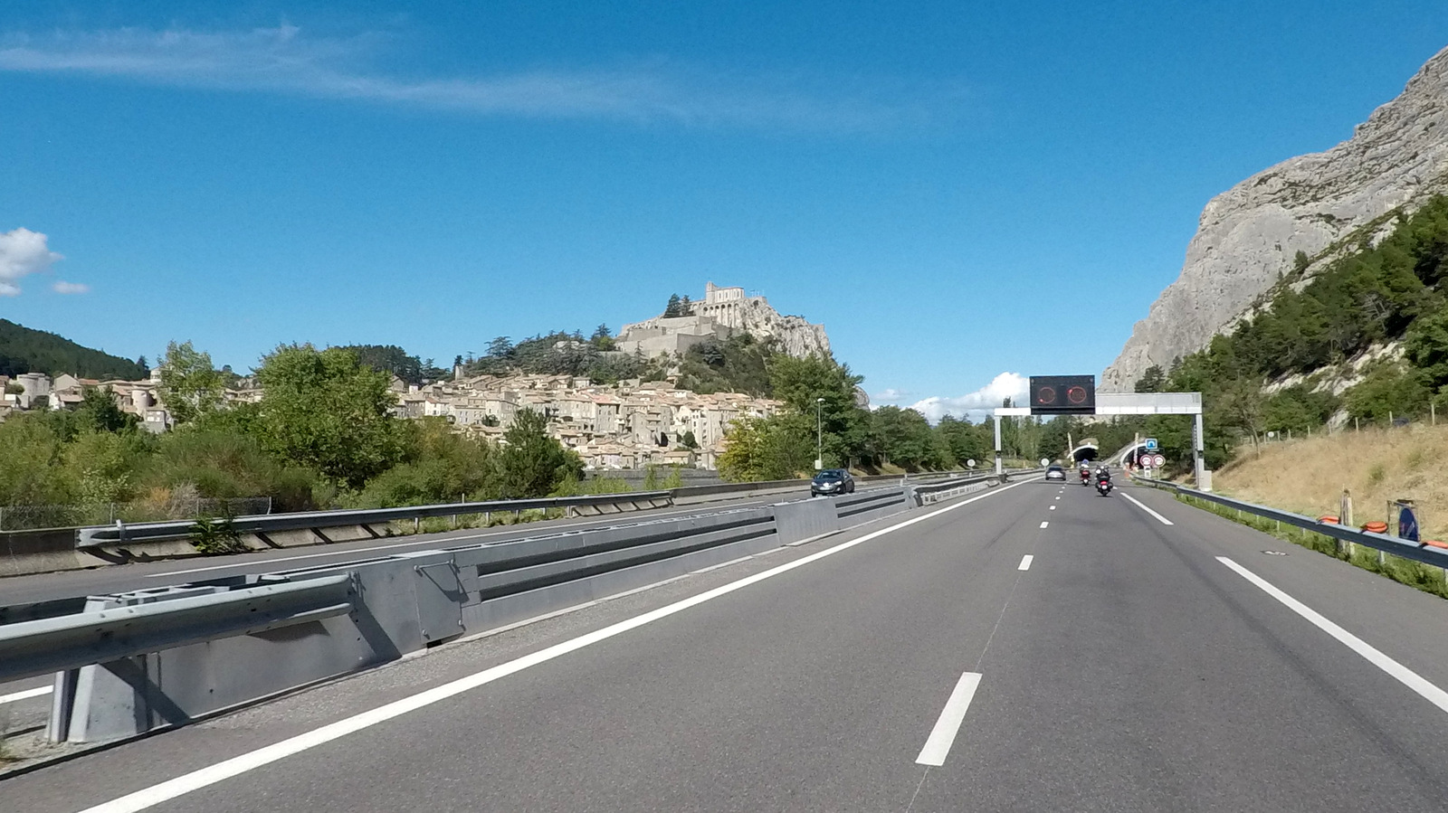 ... jusqu'à Sisteron