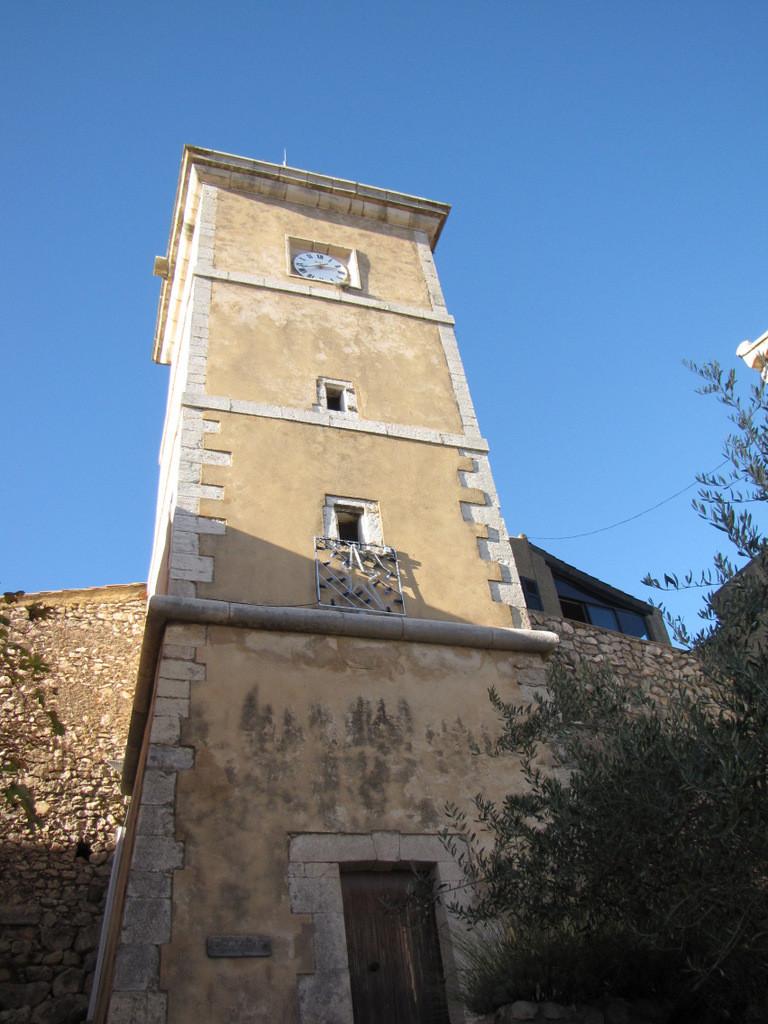 la tour de l'horloge