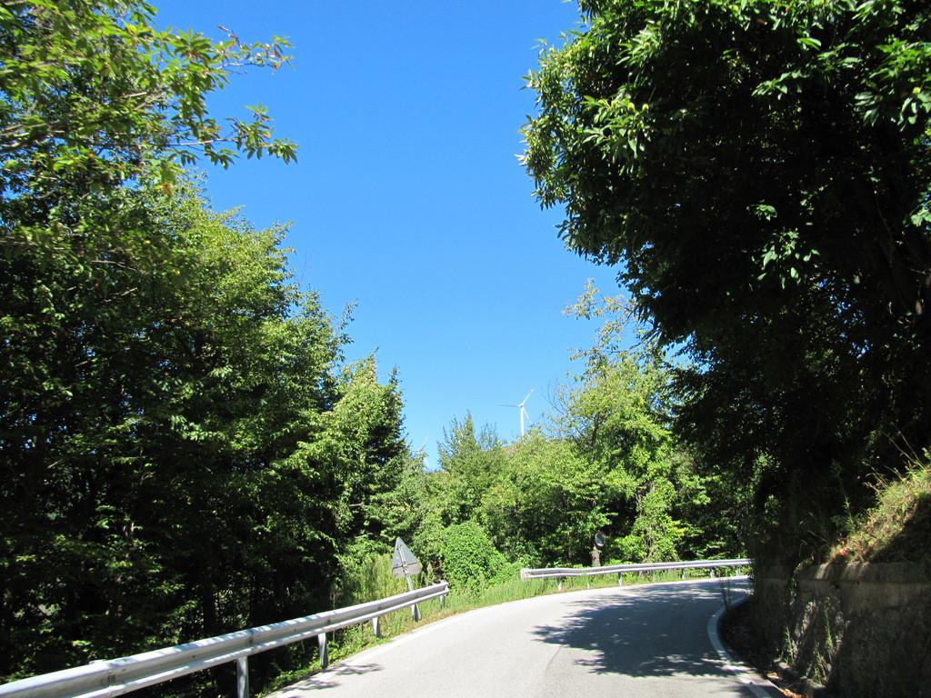 col de San Bernardo en approche