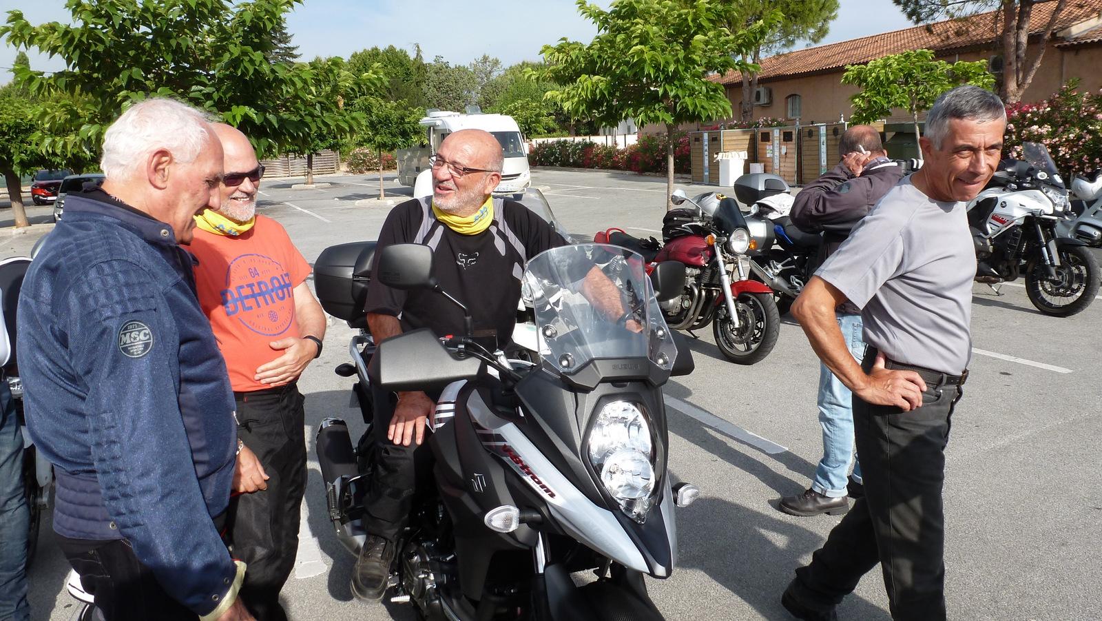 la nouvelle moto de Michel B.