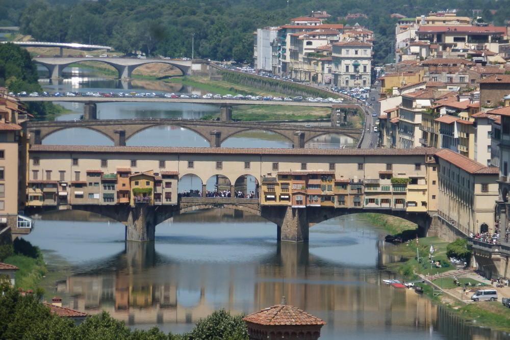 Florence - ponte Vecchio sur l'Arno