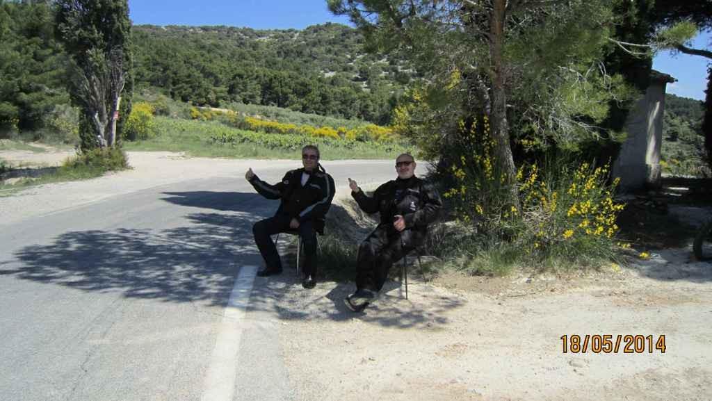 pas belle la vie de motard !!!