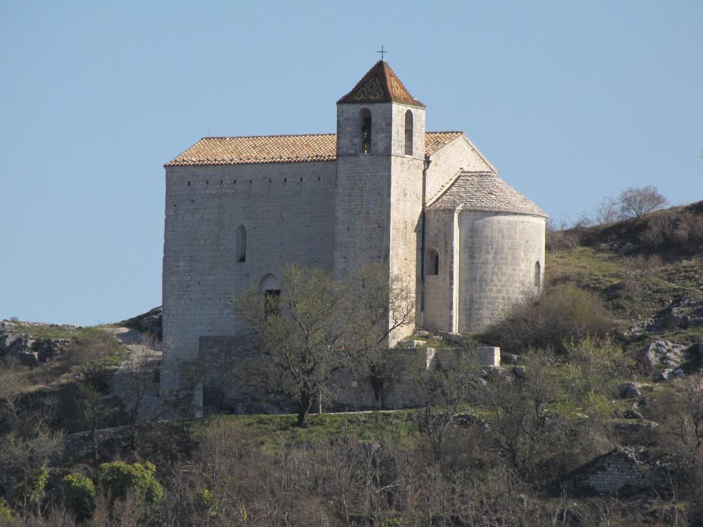 chapelle St Jean à Comps sur Artuby