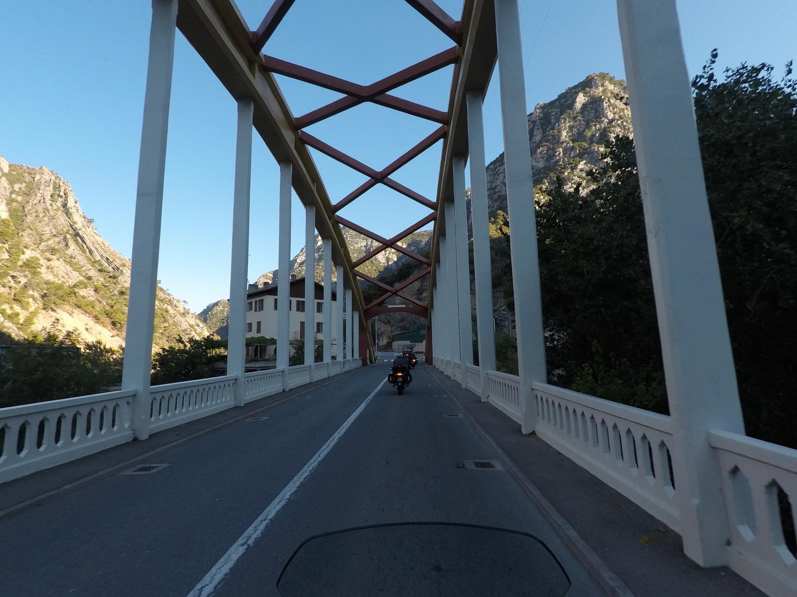 pont sur la Vésubie