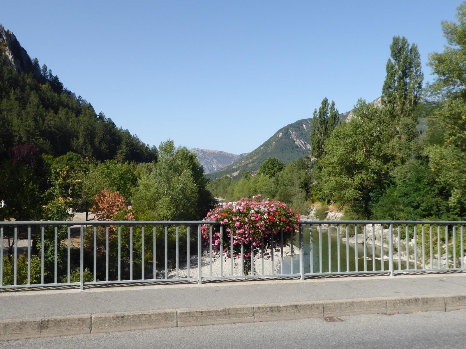 arrivée à Castellane