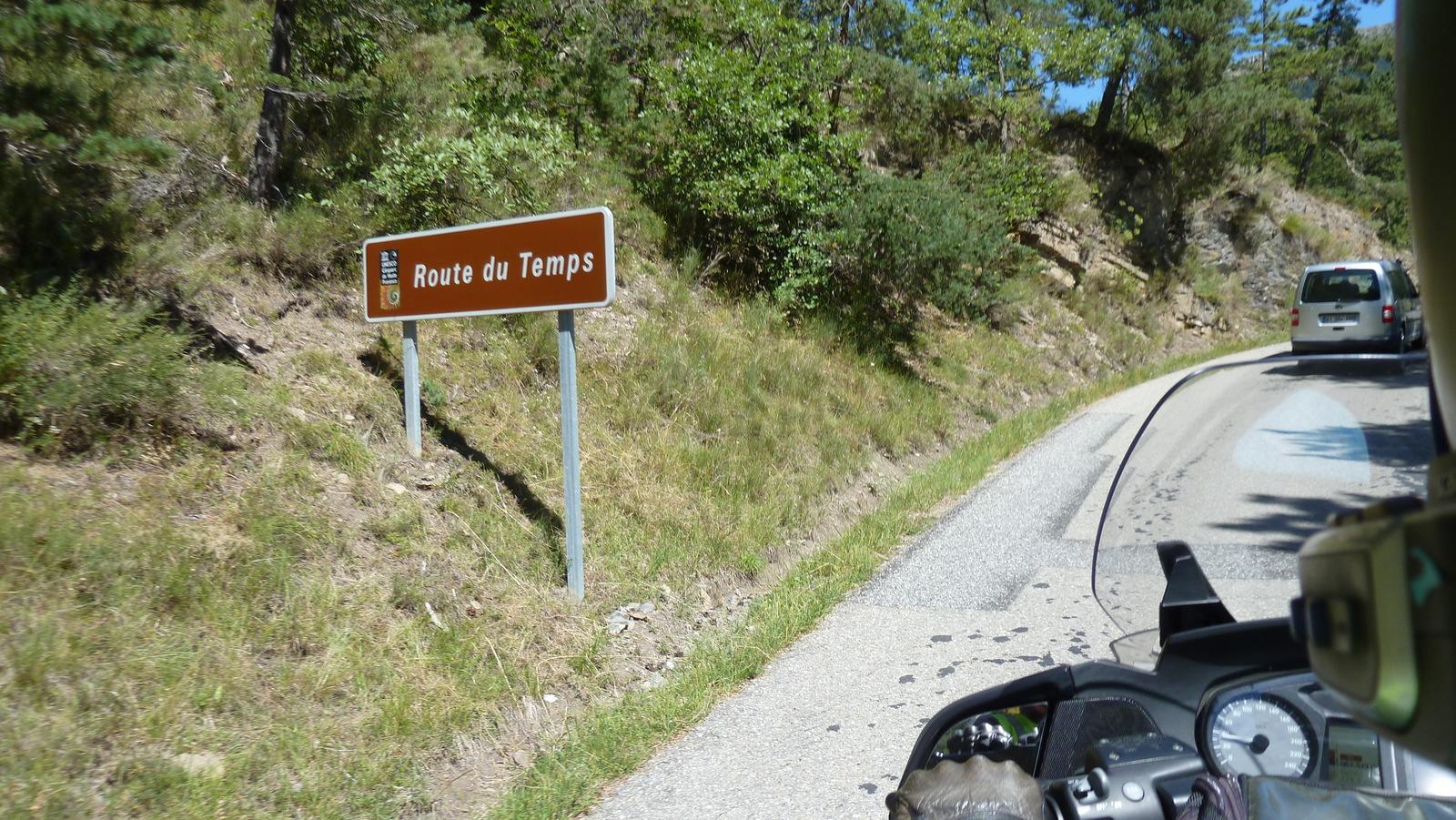 la Route du Temps ...