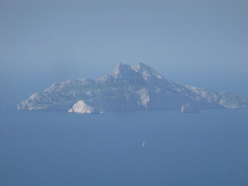 l'île de Riou avec les îlots du Petit et du Grand Congloué