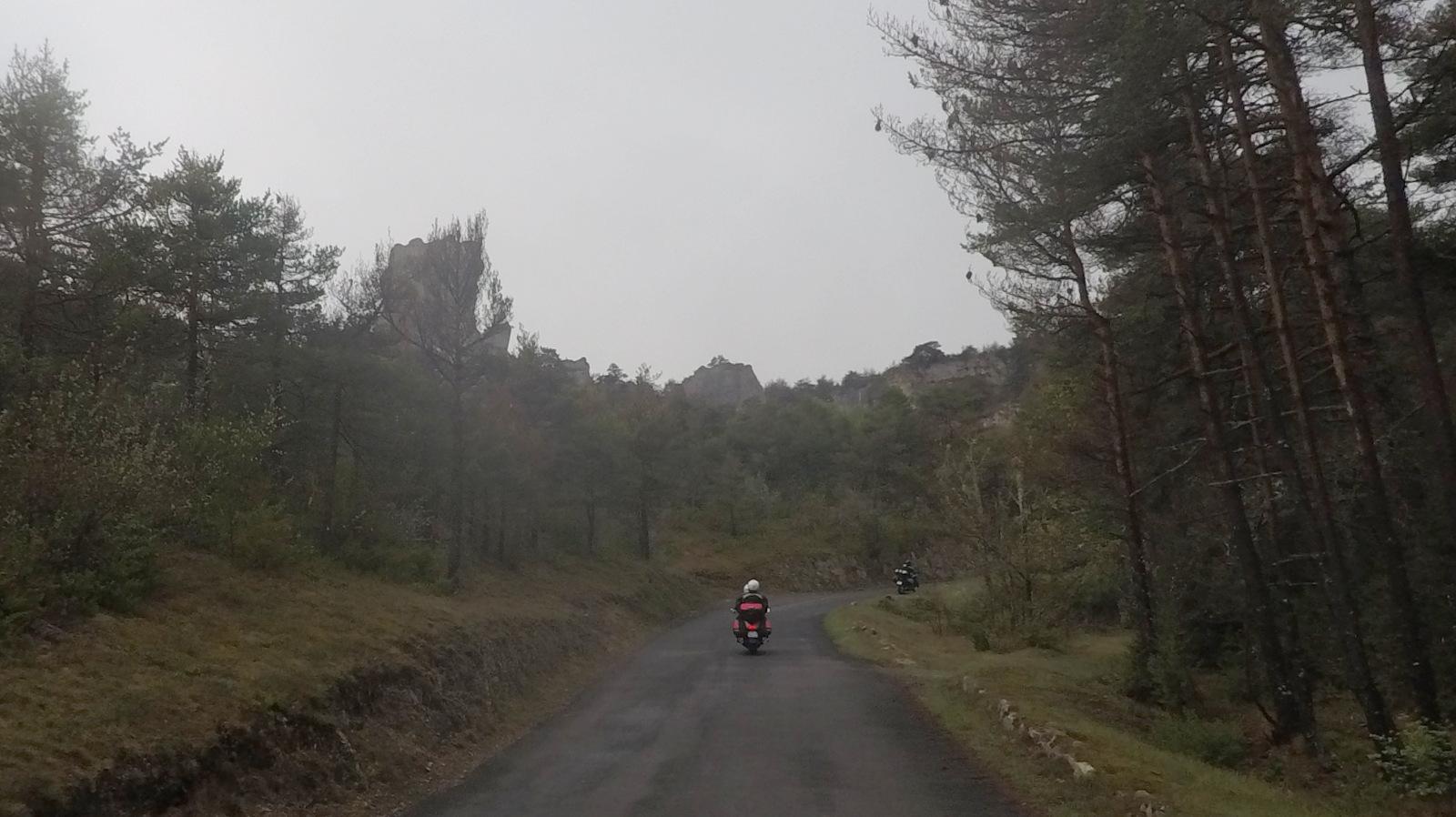 traversée du Causse Noir