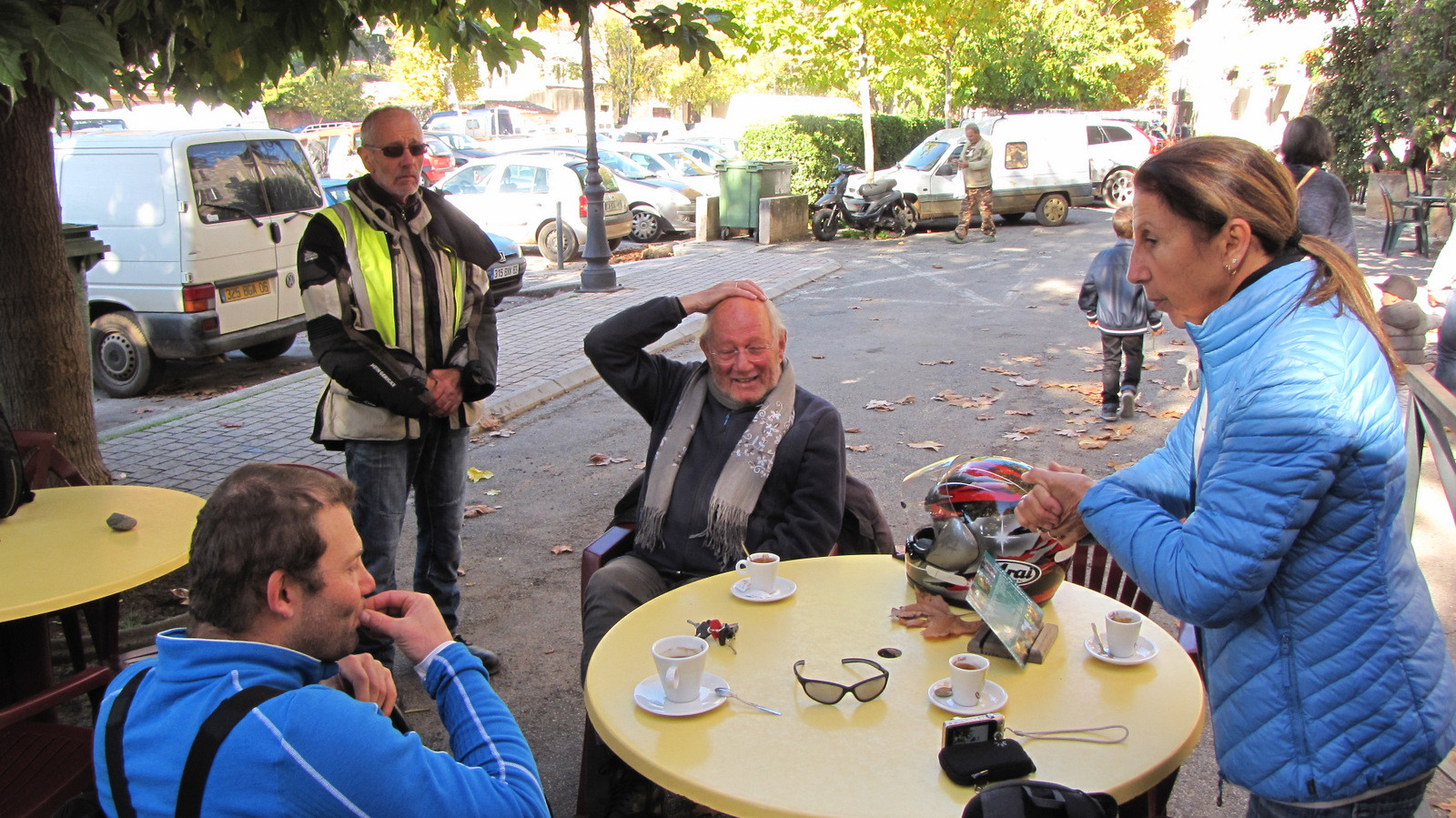 pause café à Barjols