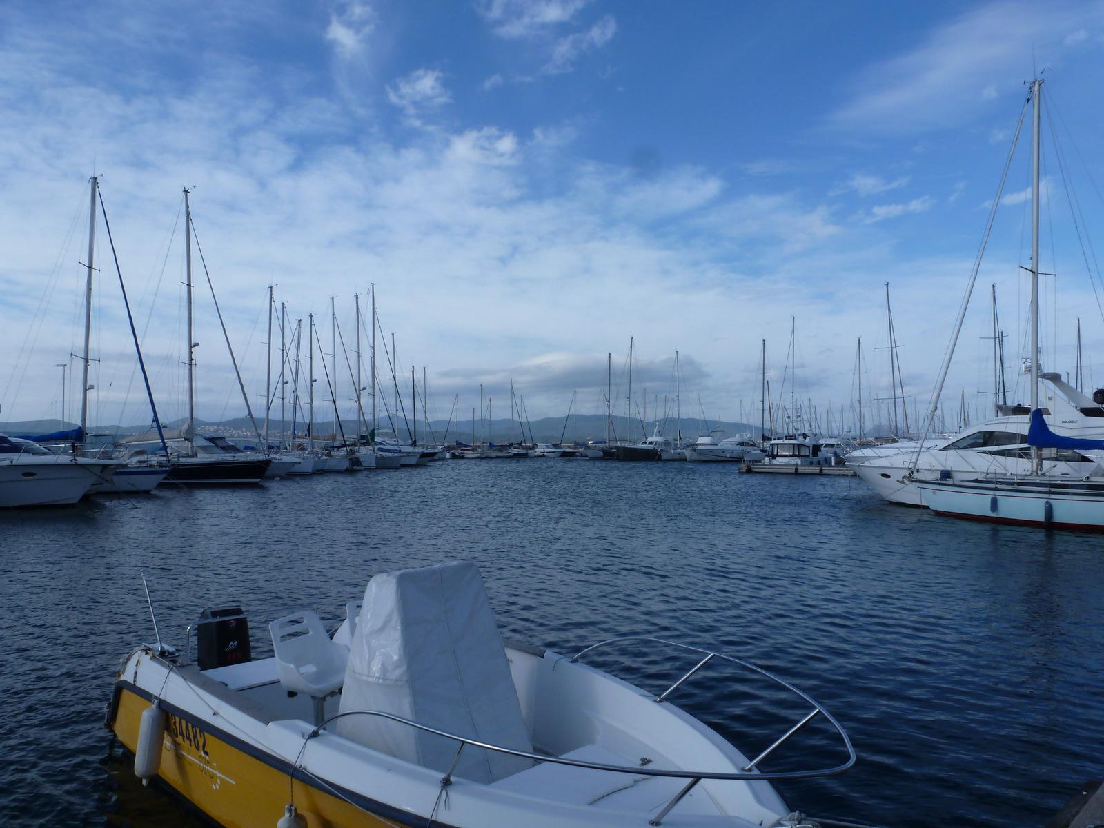 arrivée au port de Santa Lucia à Saint Raphaël