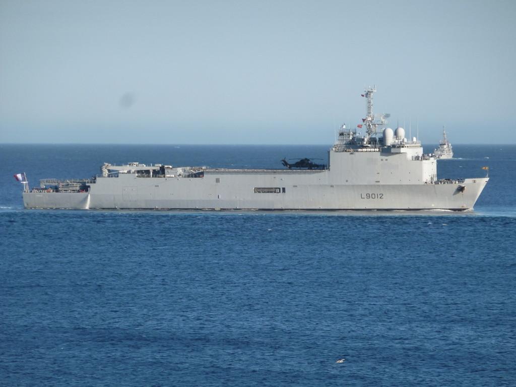 Transporteur de chalands de débarquement Siroco