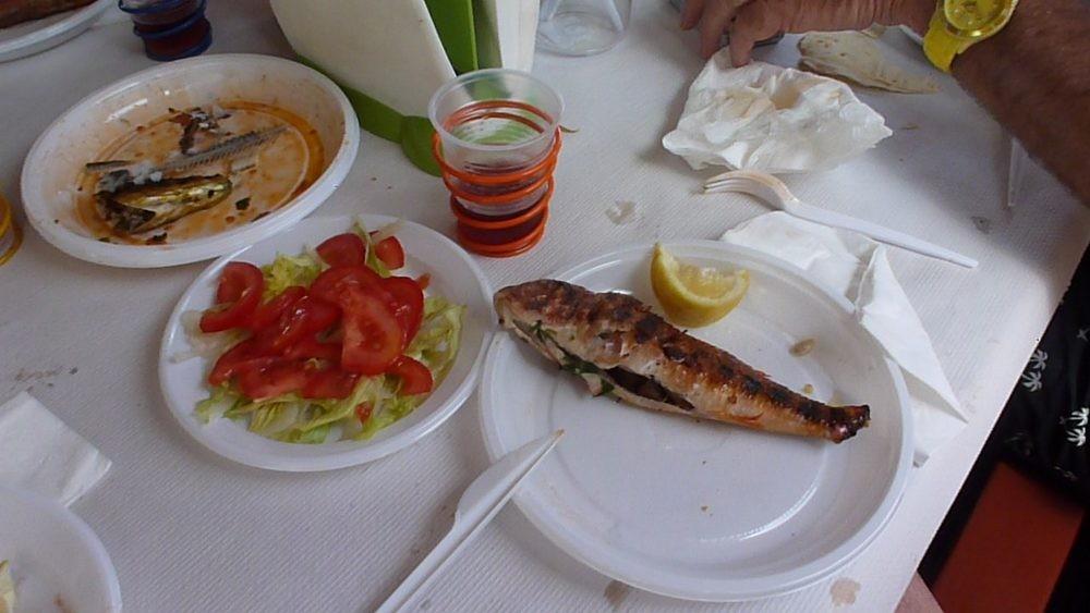 le repas très local !!!