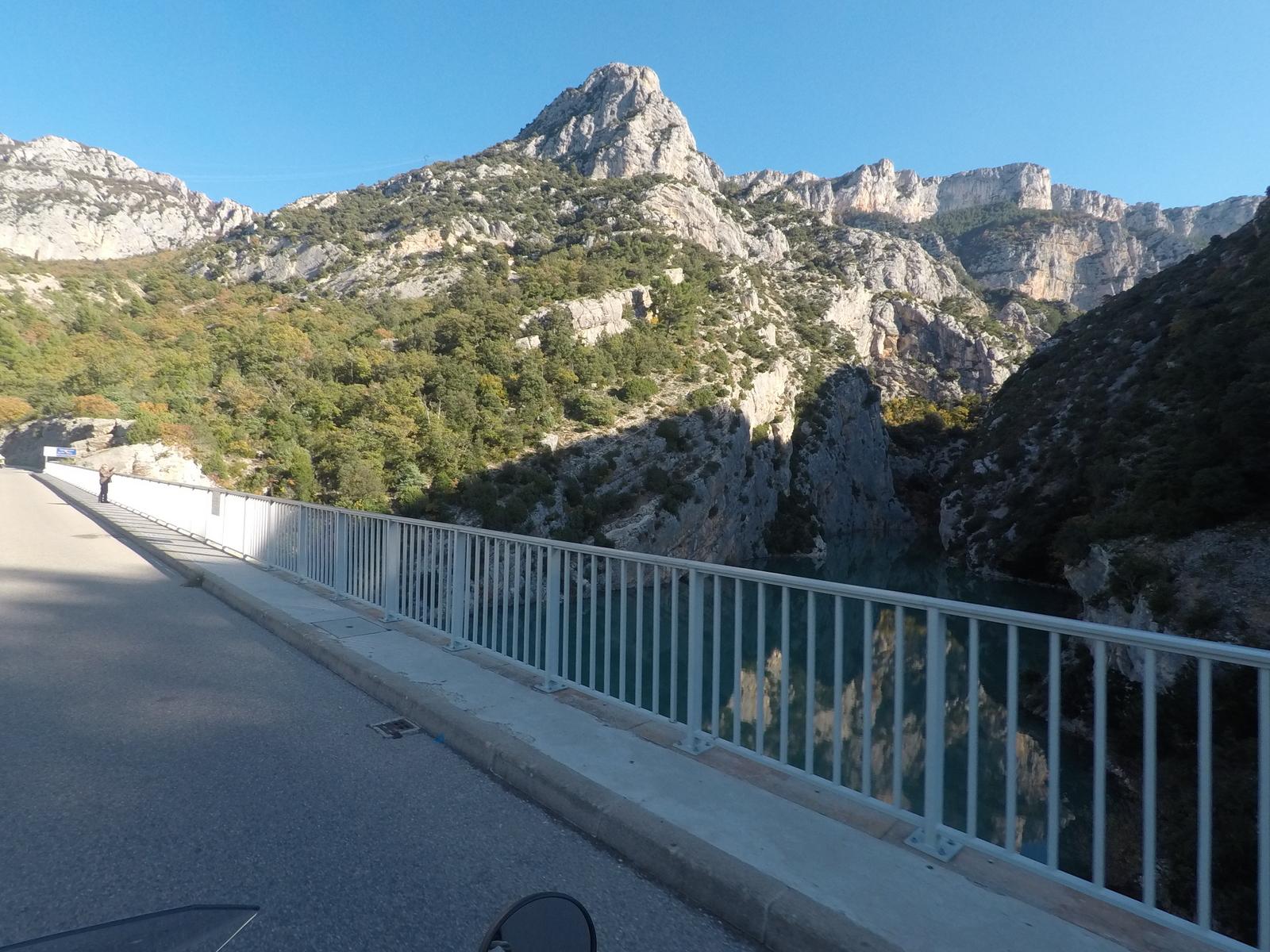 le pont du Galetas : entrée des gorges du Verdon