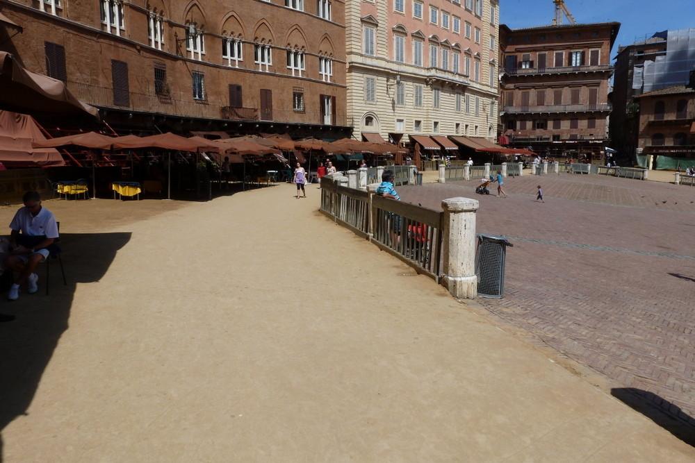 Sienne - la piazza del Campo