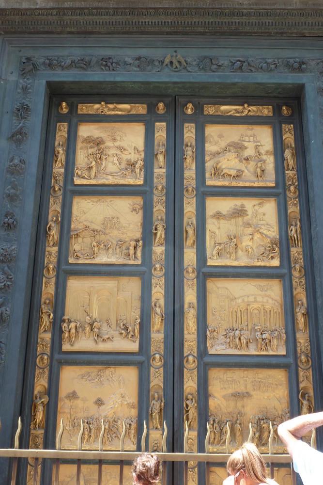 Florence - la porte dorée