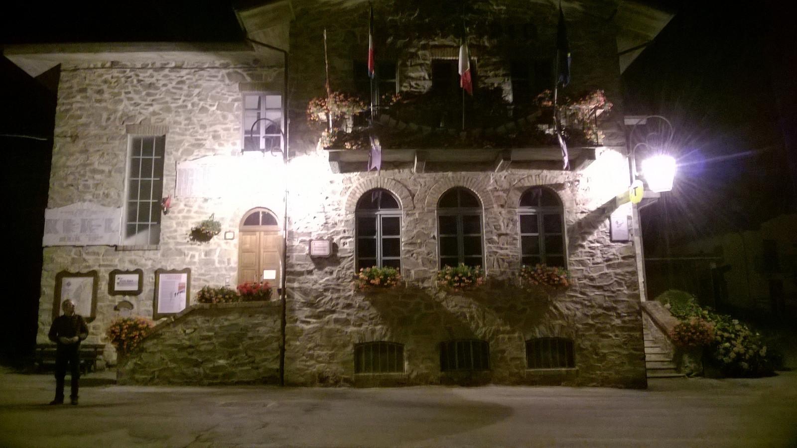 visite nocturne de Valloriate