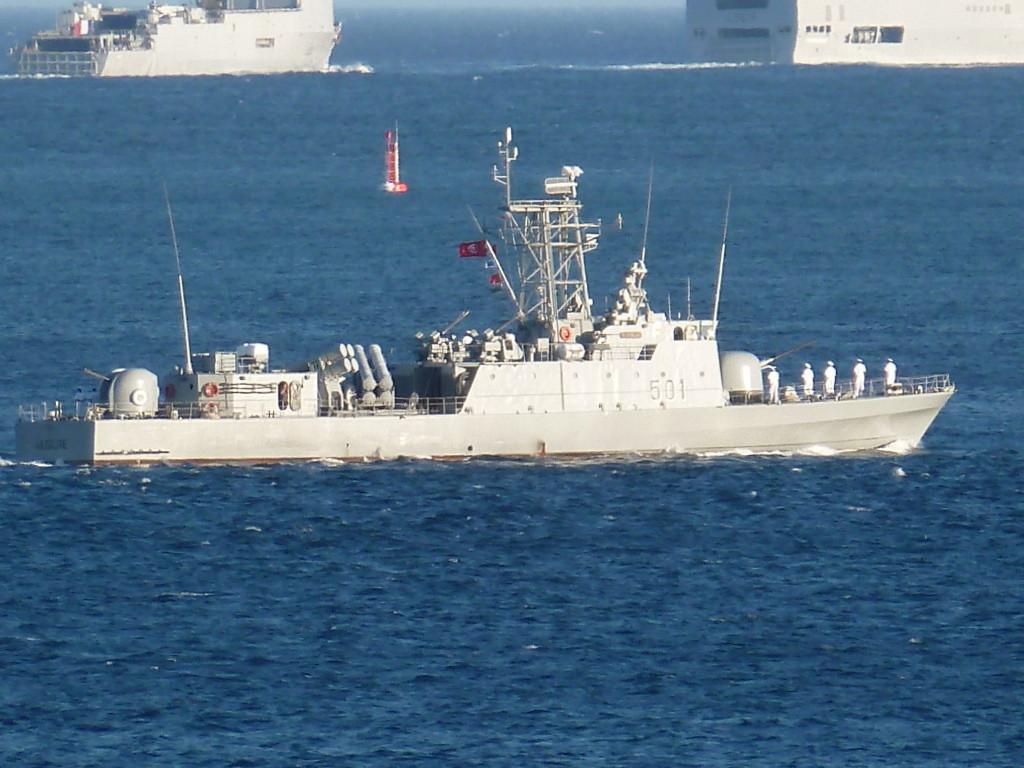 Patrouilleur tunisien La Galite