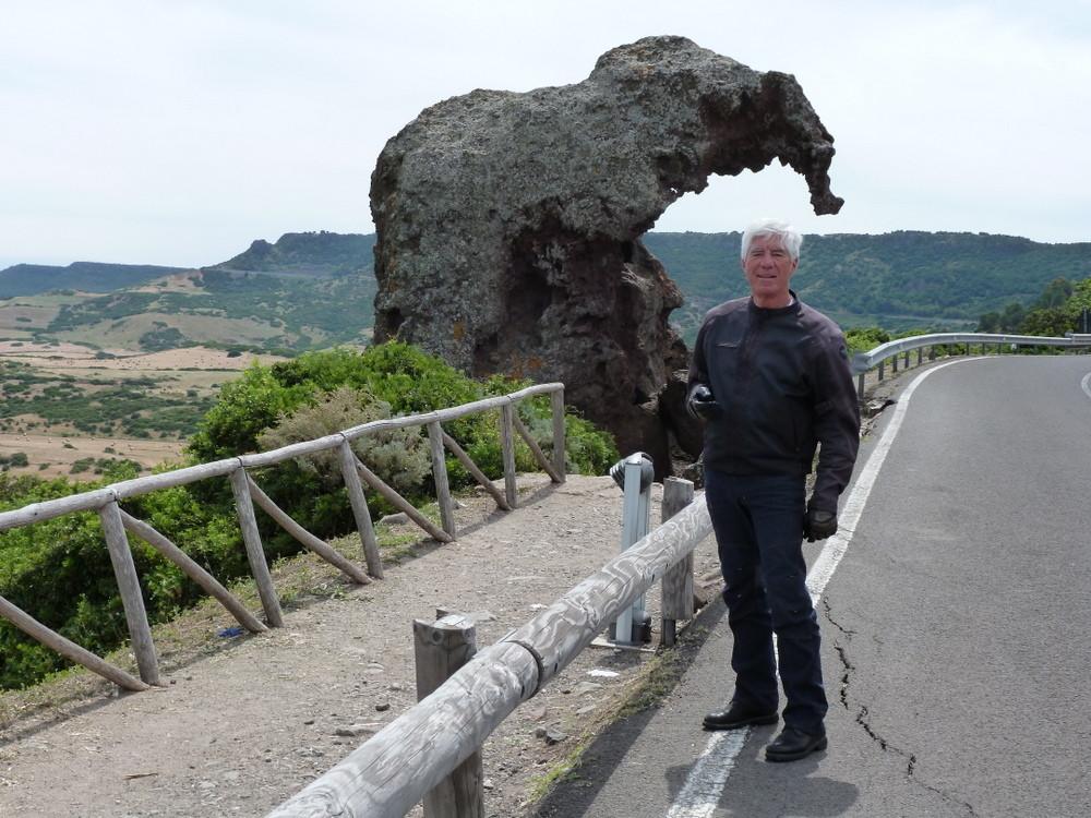 la roche de l'éléphant prés de Castelsardo