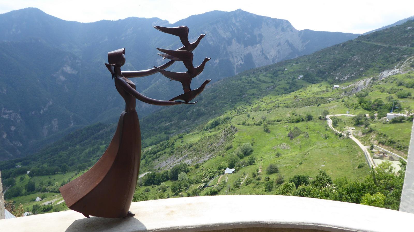 visite du village d'Ilonse