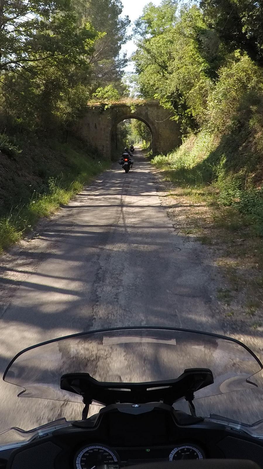 ... ancienne voie ferrée de Claviers