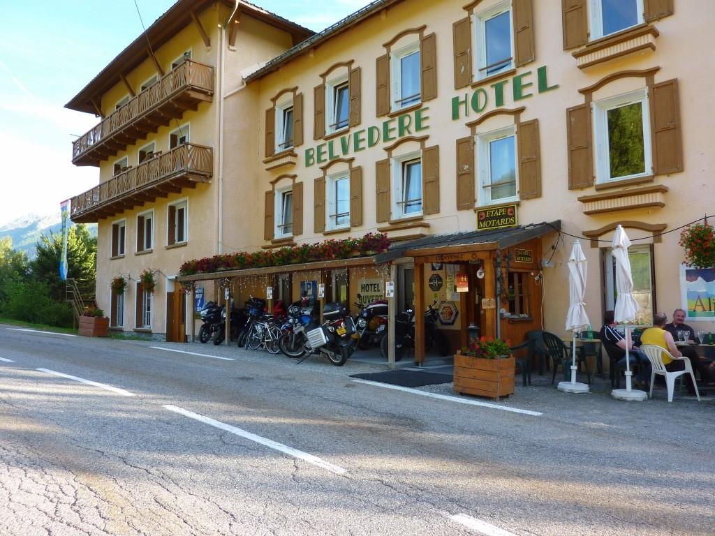 hôtel Belvédère route du petit St Bernard