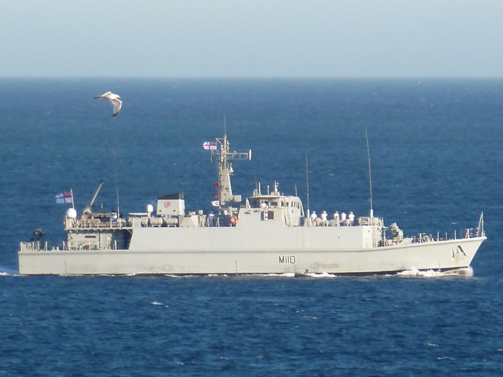 Chasseur de mines Britanique HMS Ramsey