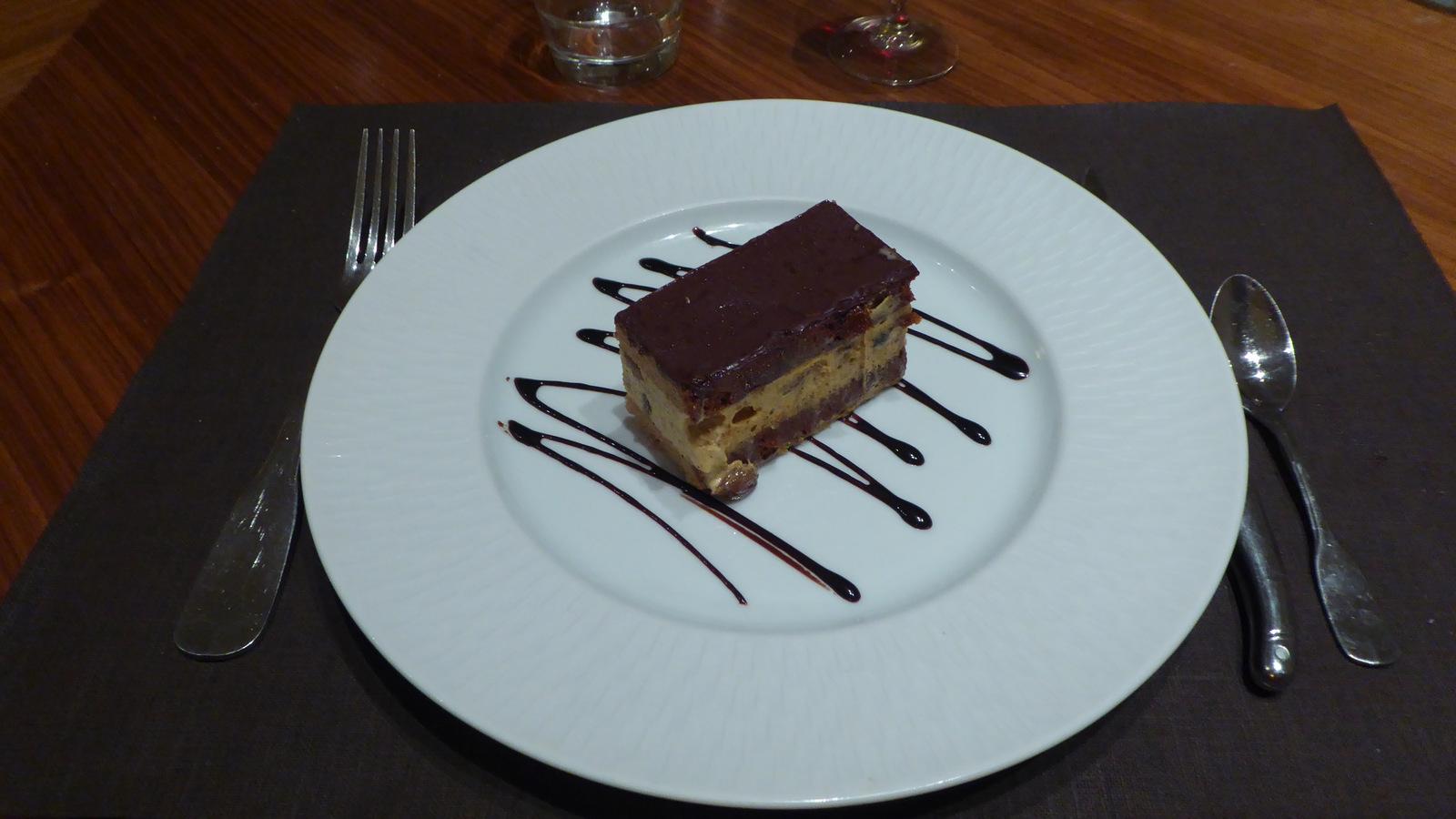 ... et un délicieux dessert pour finir !