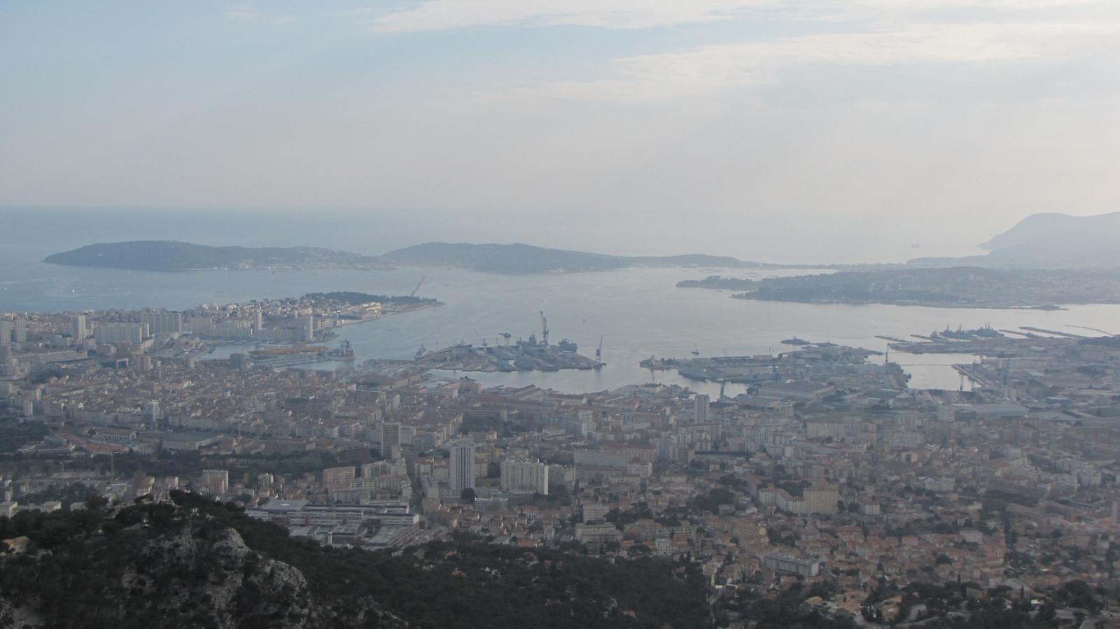 Toulon, sa rade, St Mandrier ...