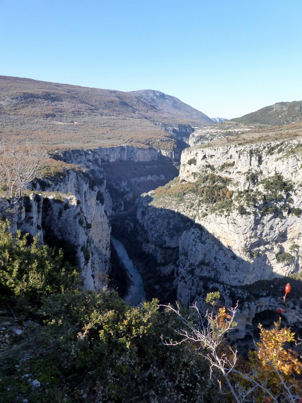 le Verdon séparant le Var des Alpes de Hte Provence