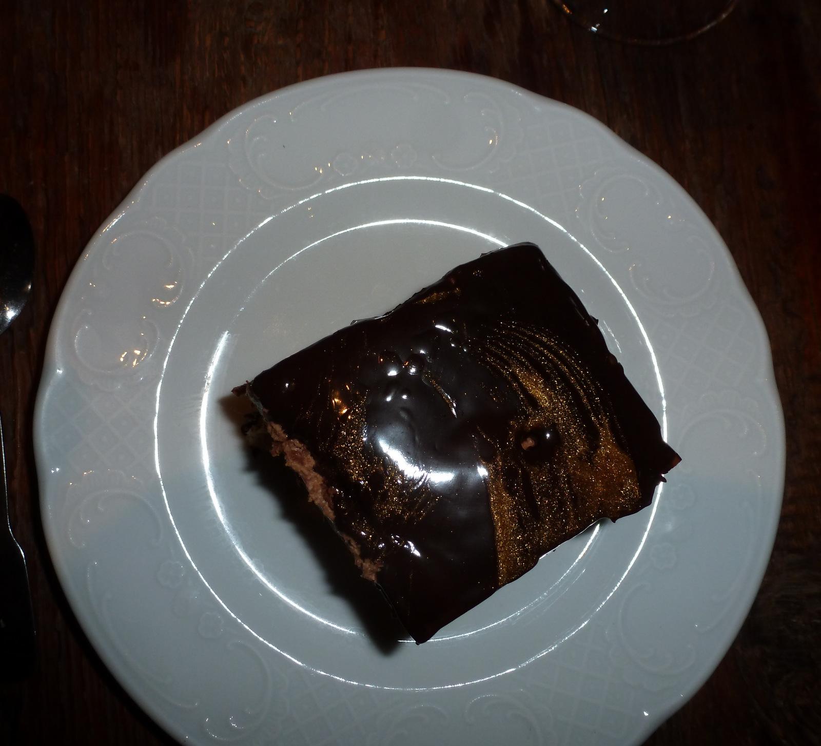 ... ou dessert au chocolat ...