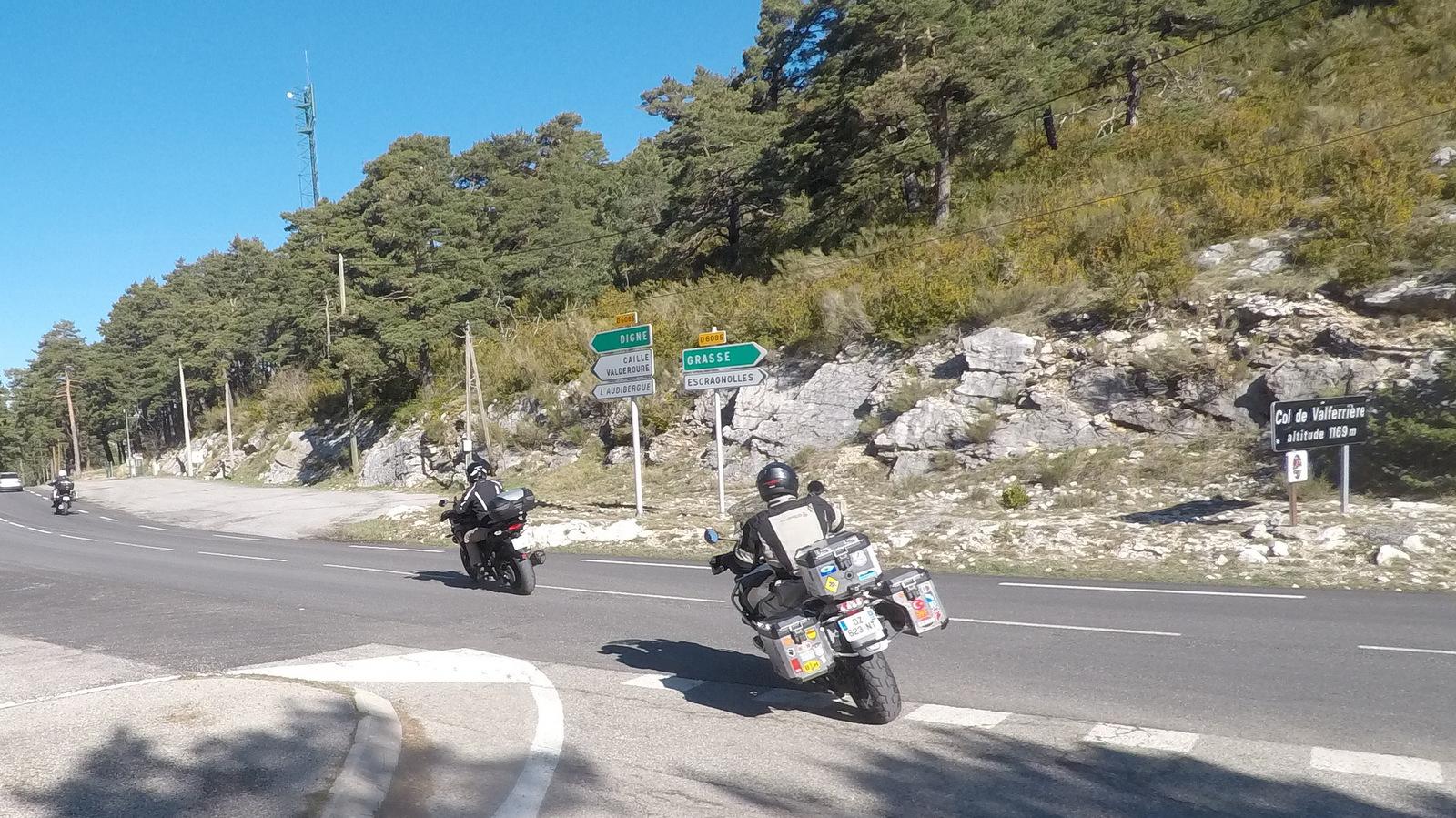 route Napoléon au col de Valferrière