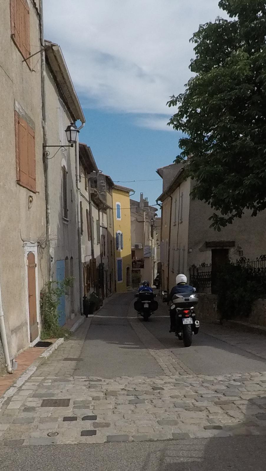 traversée de Montmeyan