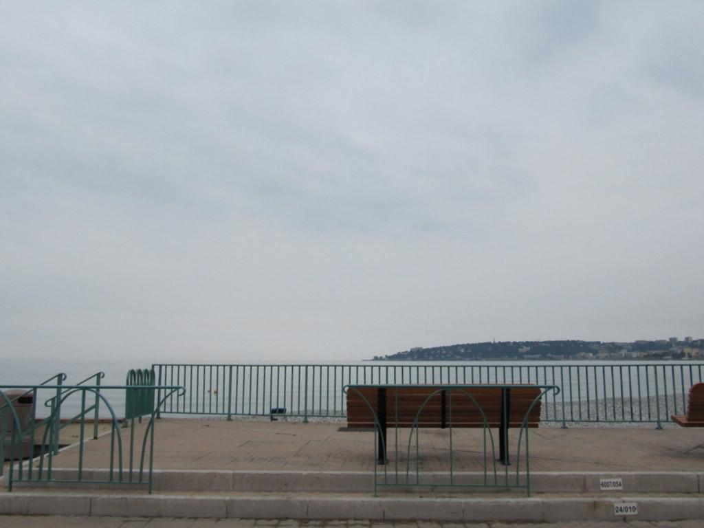 Menton : la plage