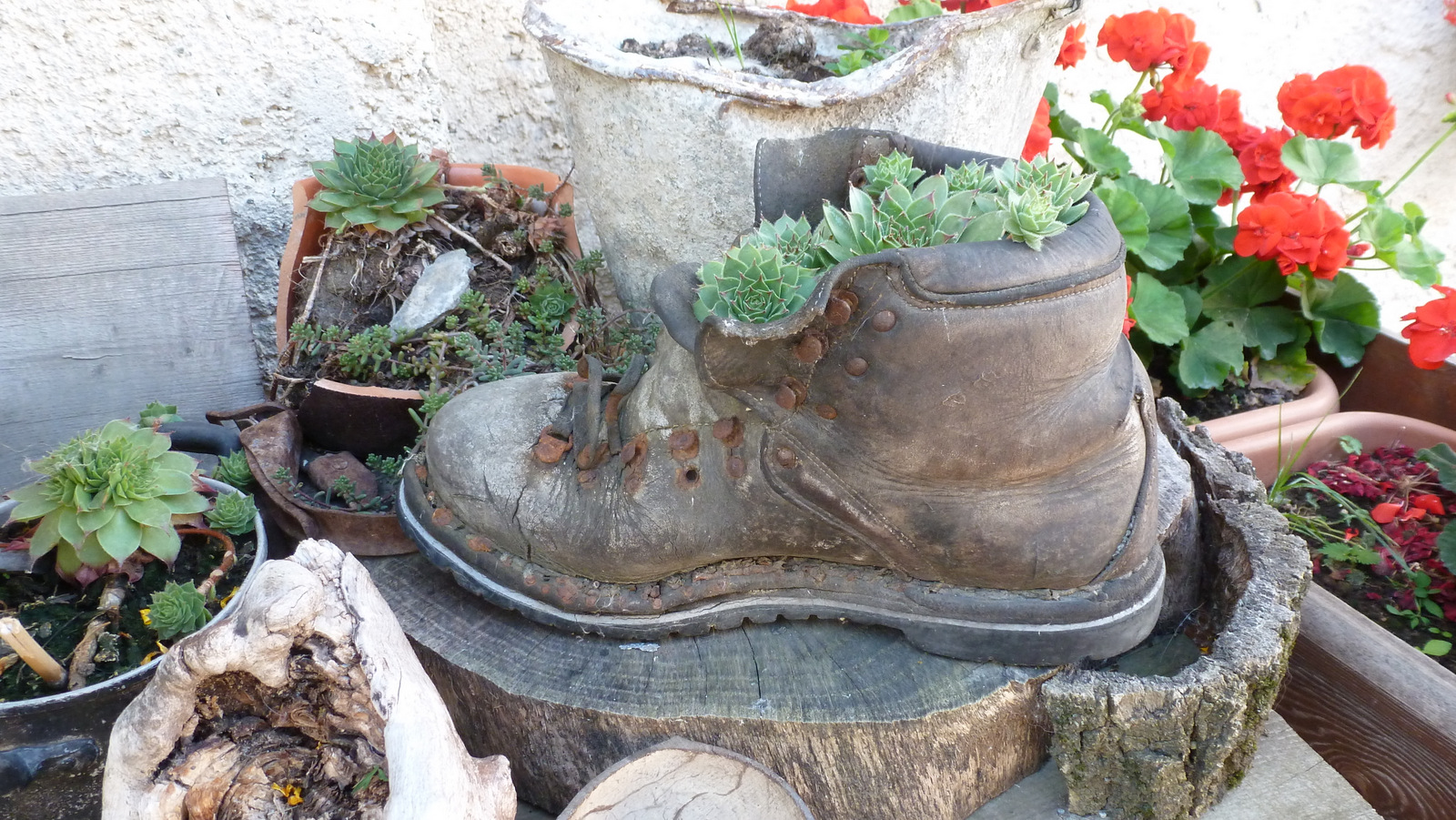 recyclage de chaussures ...
