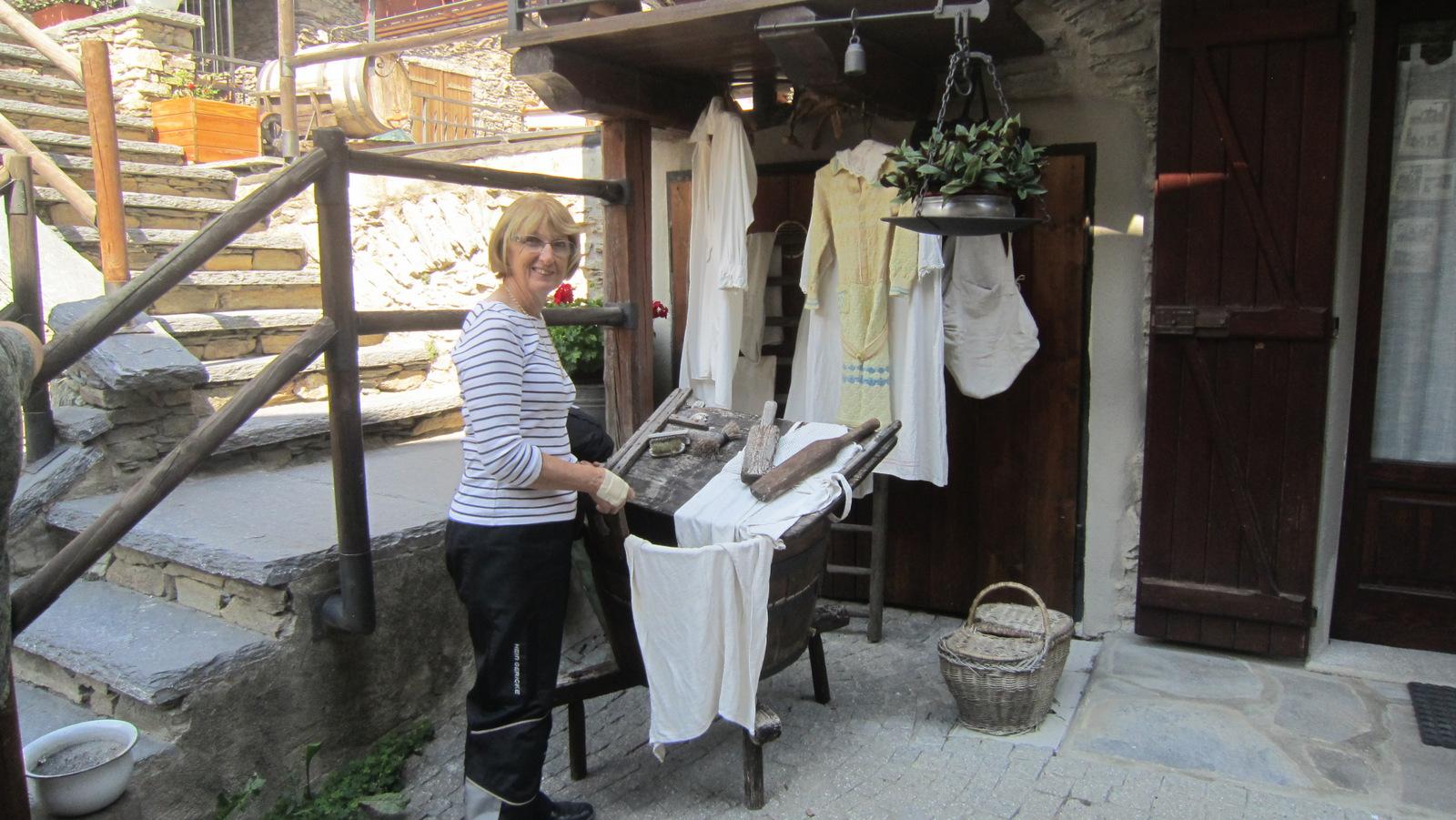la lavandière ...