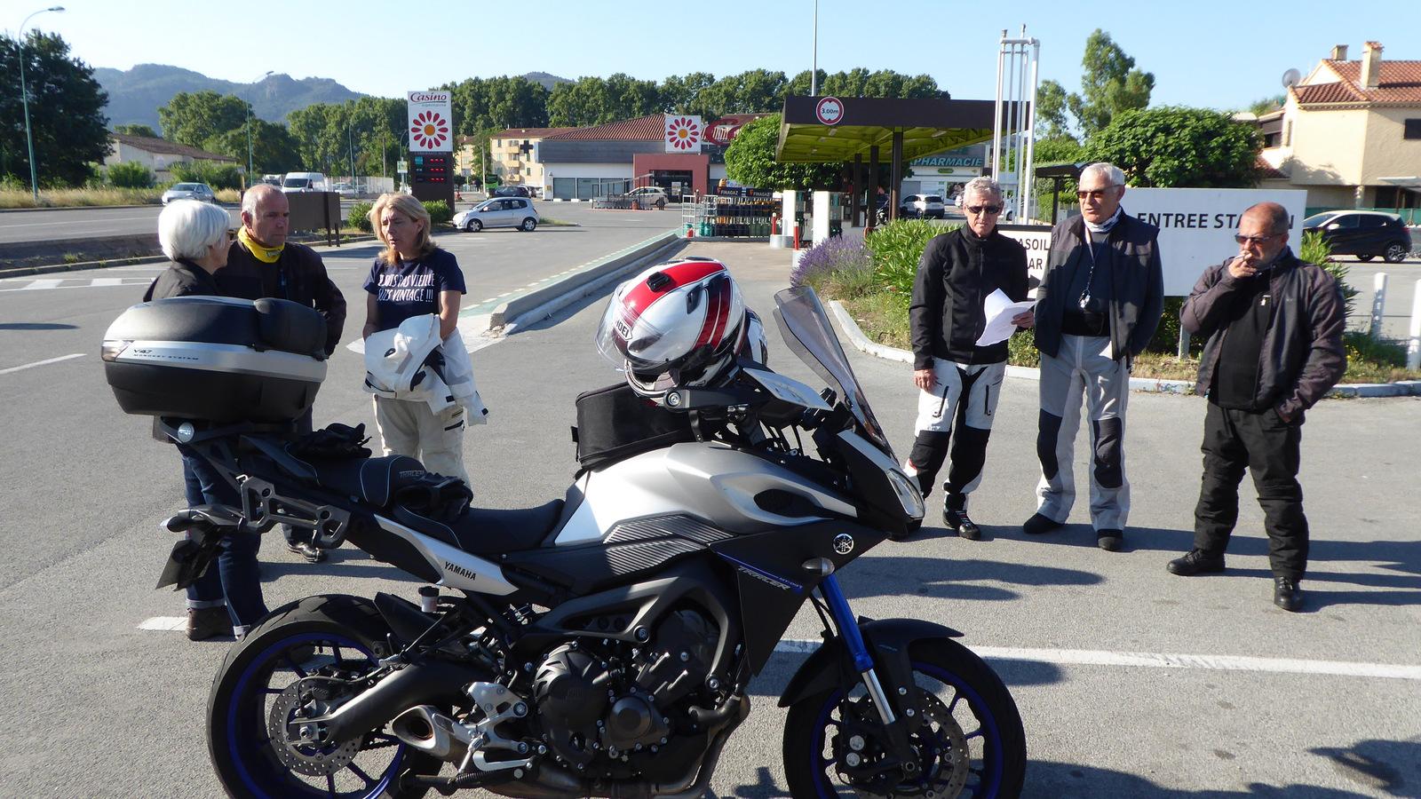... la nouvelle moto d'Alain !