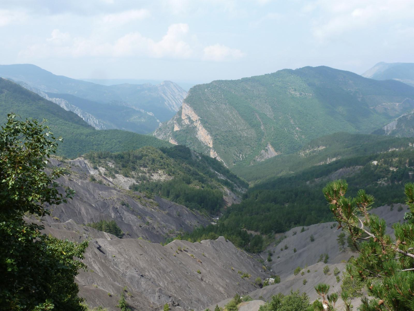 vue du Col du Corobin