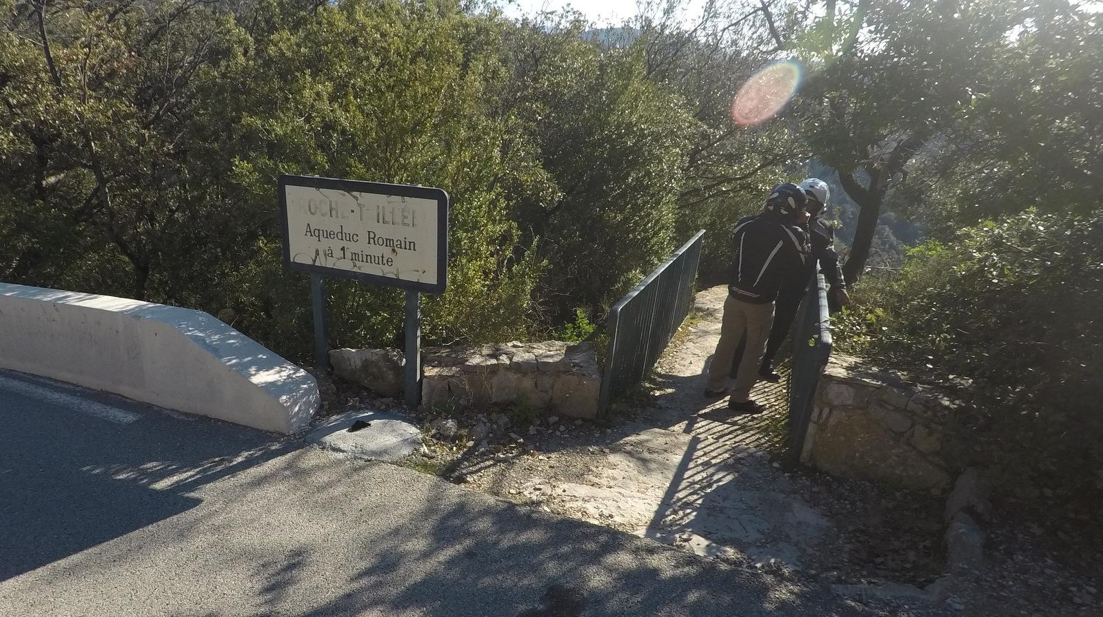"""arrêt visite de """"la roche taillée"""""""