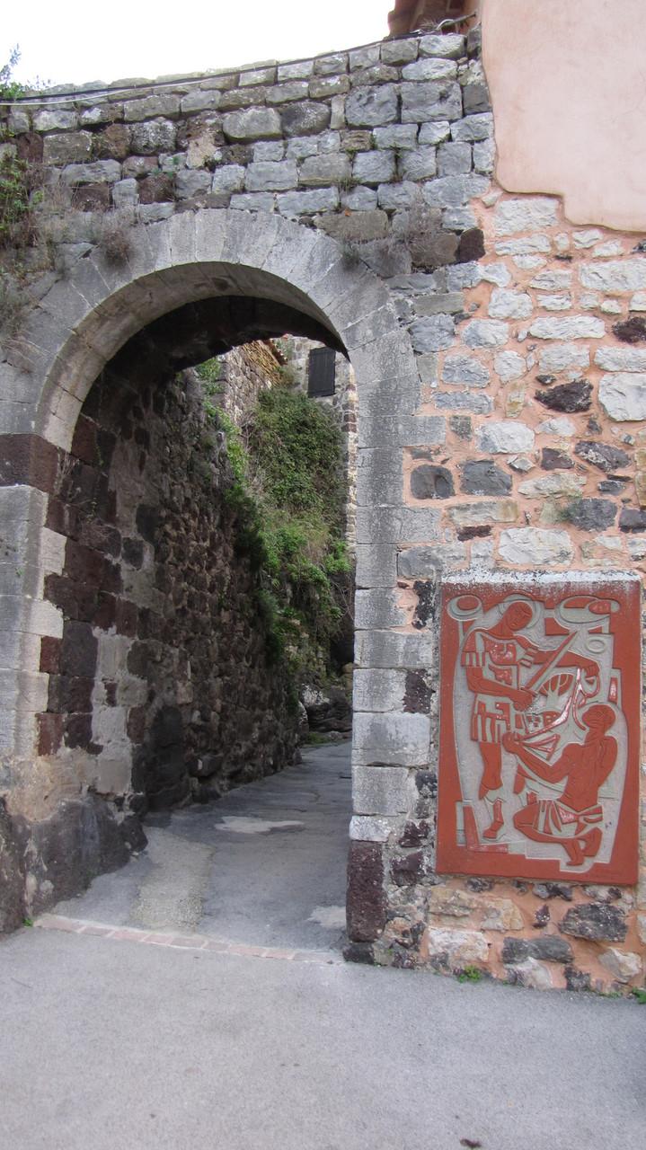 passage de la porte St Martin