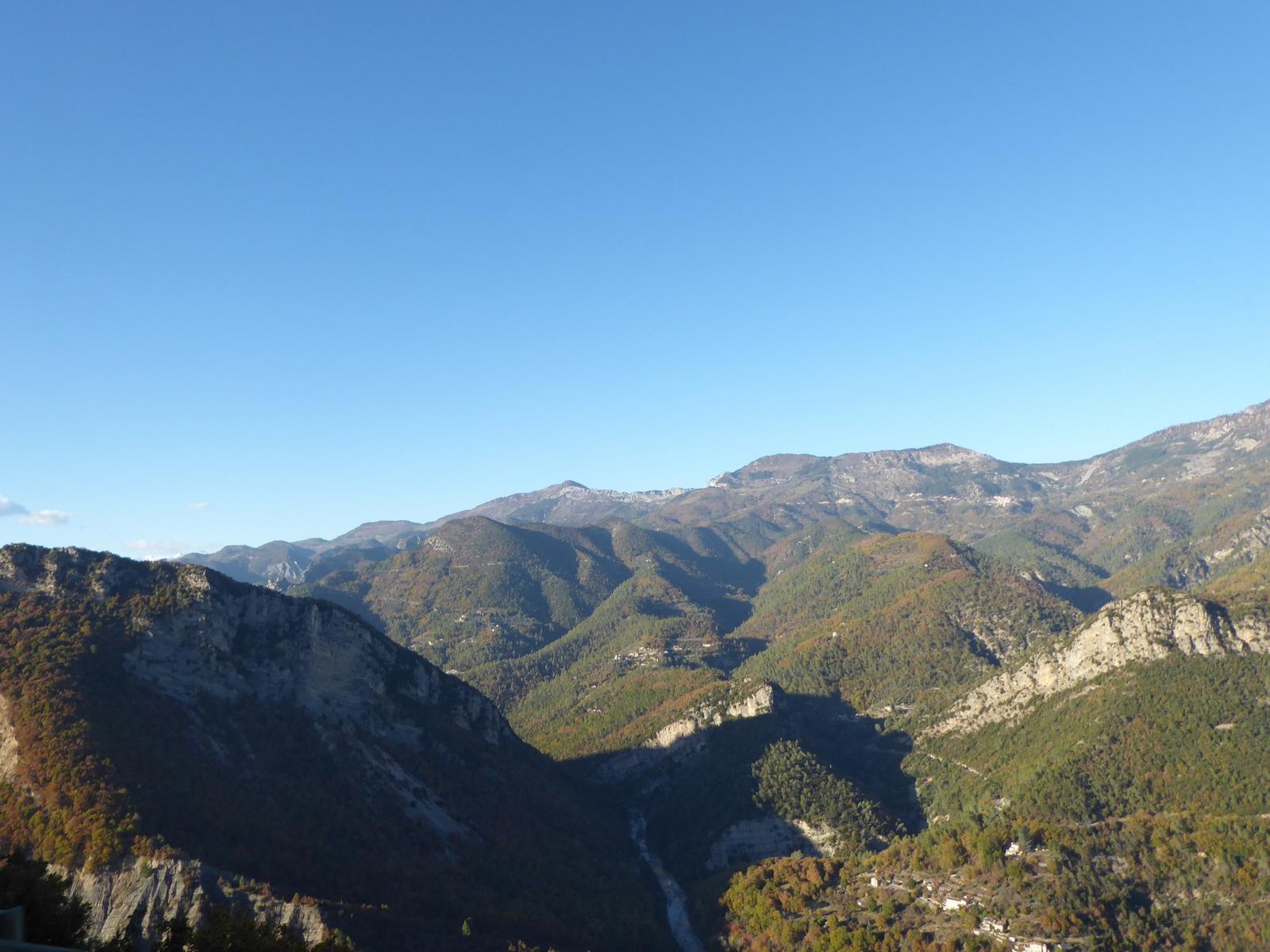 vallée de l'Estéron